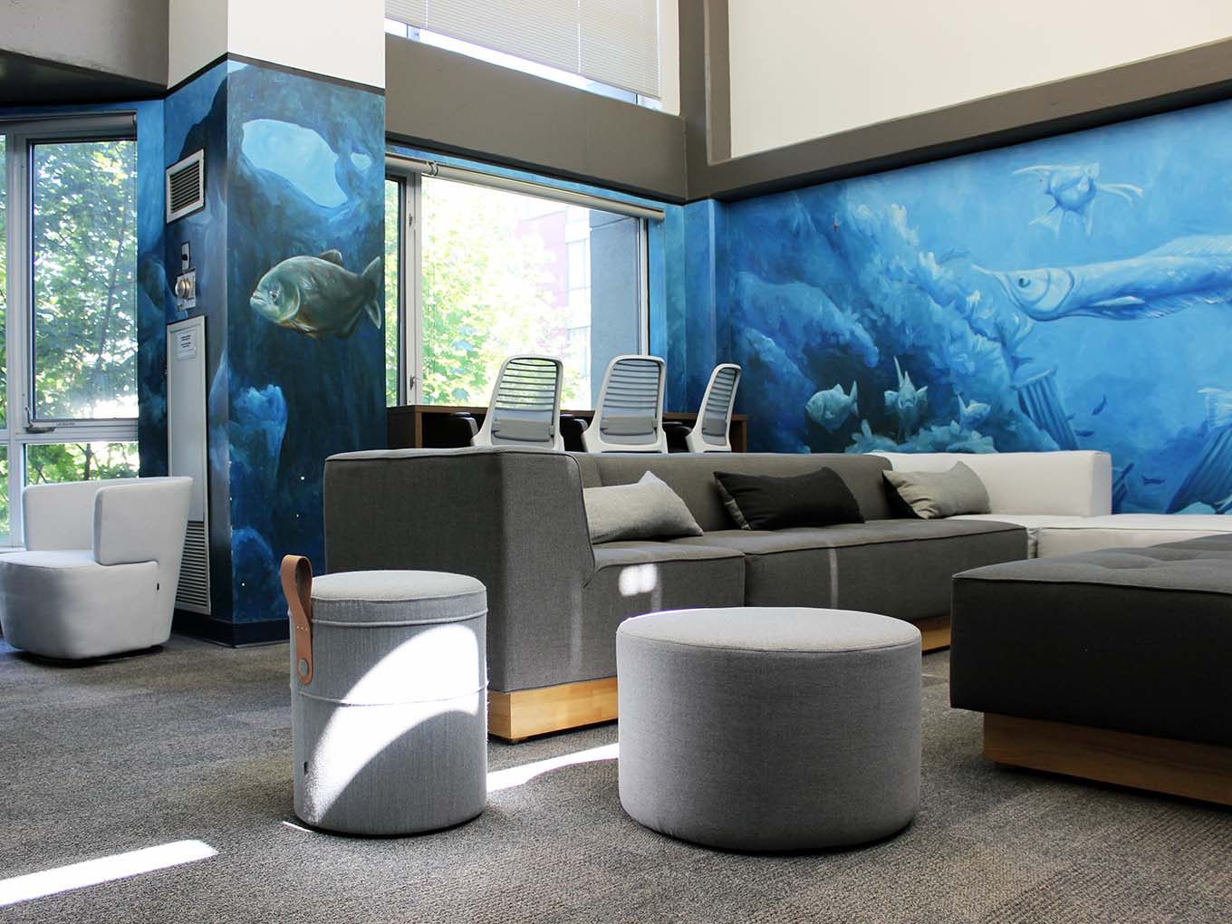 Suites and Amenities - Fish bowl