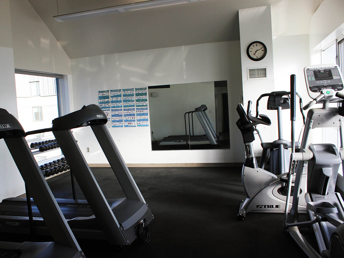 Suites and Amenities - Gym