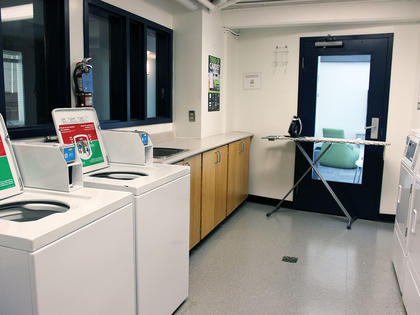 Suites and Amenities - Laundry room